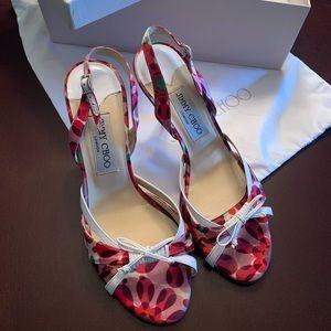 Jimmy Choo Slingback Pink Heels~Size 7